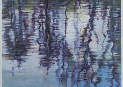 """""""Upside down Tree Reflection in Blue & Purple"""",21.75"""" x 28"""", $800"""