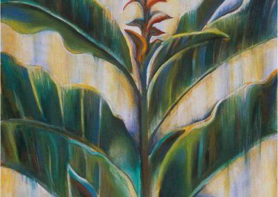 """Hawaiian Ginger, 60"" x 75"", oil on canvas, $2050"